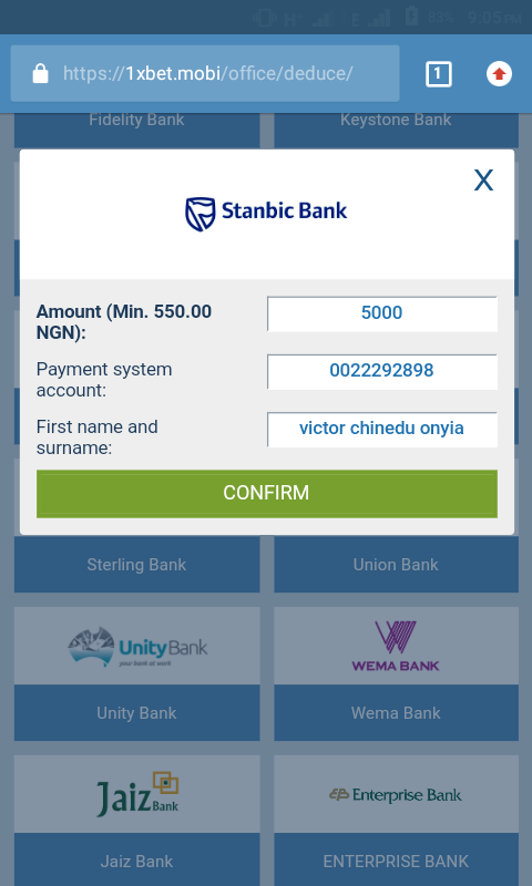 How to withdraw winnings from 1xBet